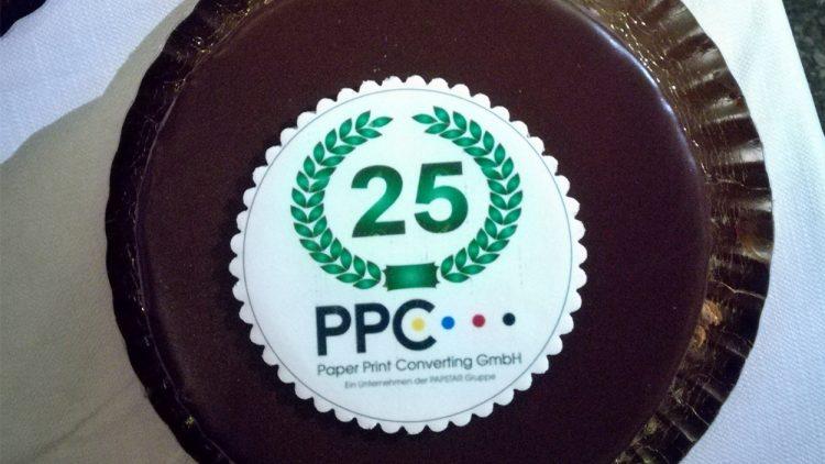 25 Jahre PPC  Firmenjubiläum